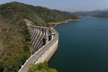 una represa hidroeléctrica requieren técnicas innovadoras para la evaluación de su integridad y seguridad