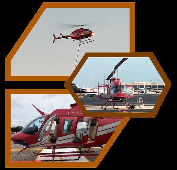 Lidar Mexico helicoptero