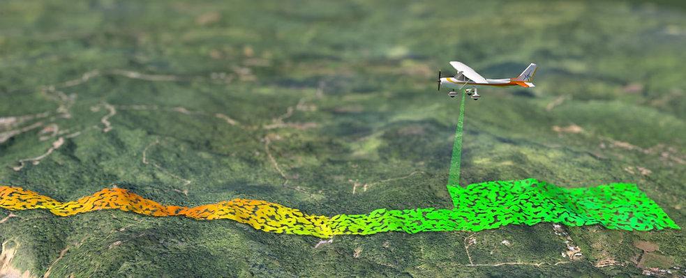 topografía aerea, lidar, lidar méxico, fotogrametría