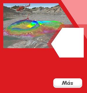 gradiometro triaxial, geofísica, topografía aerea, lidar, lidar méxico, fotogrametría
