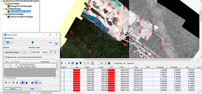 Lidar america photogrammetric rectification