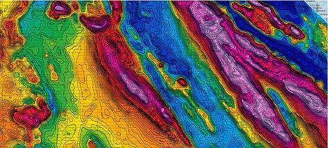 Mapa Magnetico del subsuelo