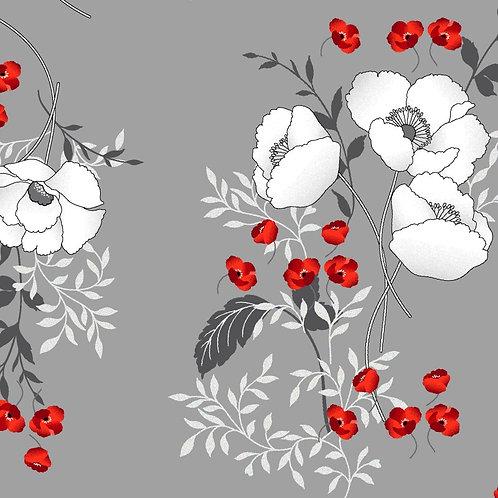 Poppy Promenade Bouquet Pearlescent KAS7982P-11