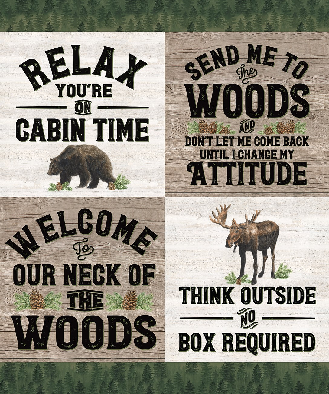 Send Me to the Woods