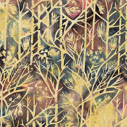 Batik - Twigs - Buttercup