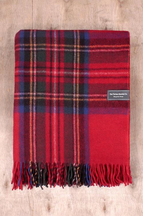 Stewart Royal Tartan Blanket