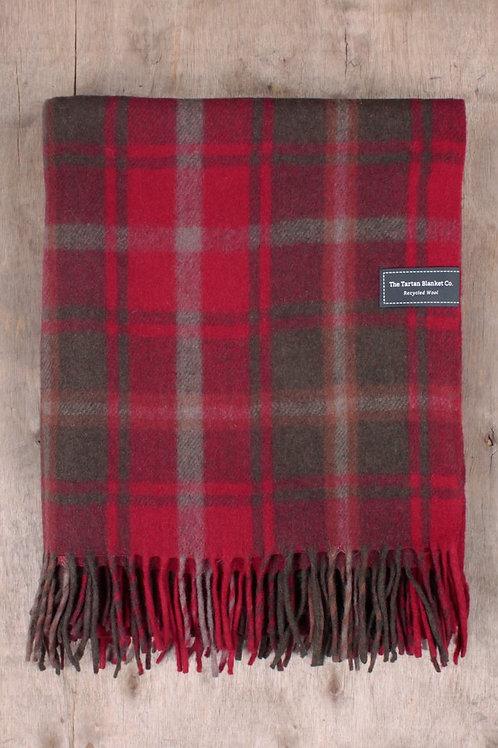 Dark Maple Tartan Blanket