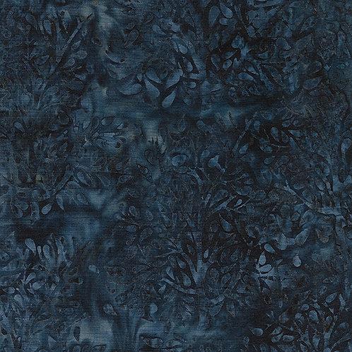 Batik - Paisley Tree - Navy