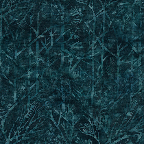 Batik - Twigs - Cool Waters