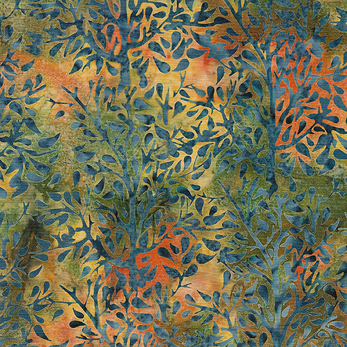Batik - Paisley Tree - Peacock