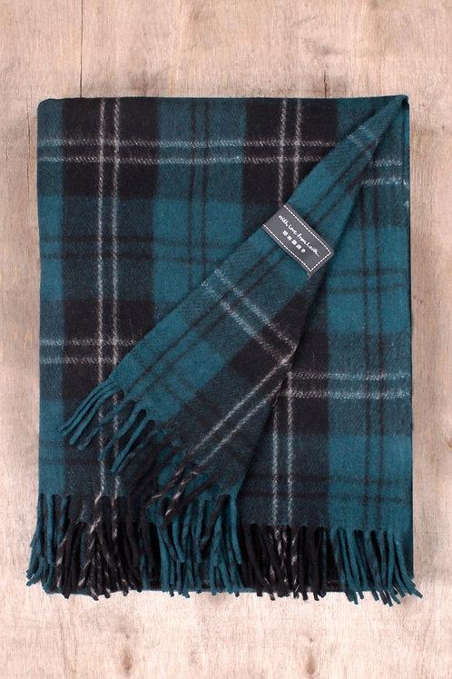 Ramsey Blue Tartan Blanket