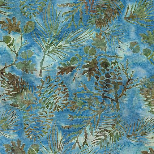 Batik - Pine Leaf - Waterfall