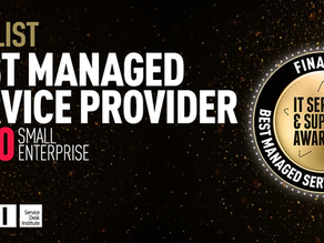 Managed - finalists for Service Desk Institute Best MSP of Year Award 2020