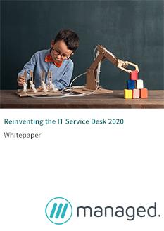 the future of the IT service desk 2020.p