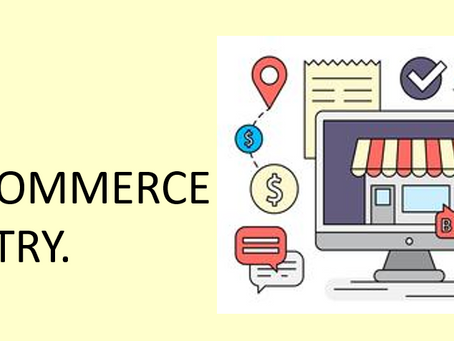 The Onset of E-commerce BOOM!