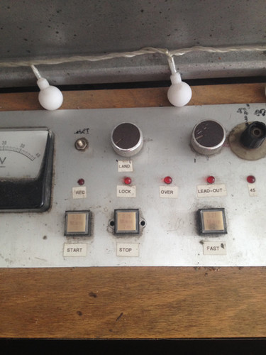 one off vinyl record lathe pitch control