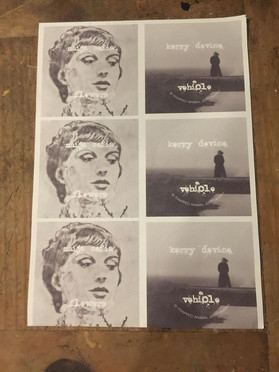 printed labels for custom vinyl 7 inch r