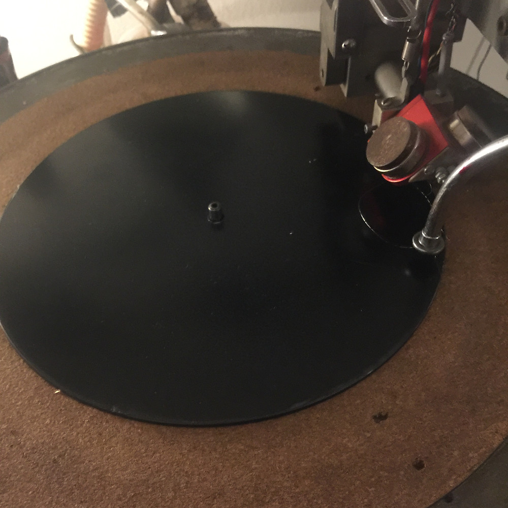 Custom Vinyl Dubplate on the Scully Mastering lathe