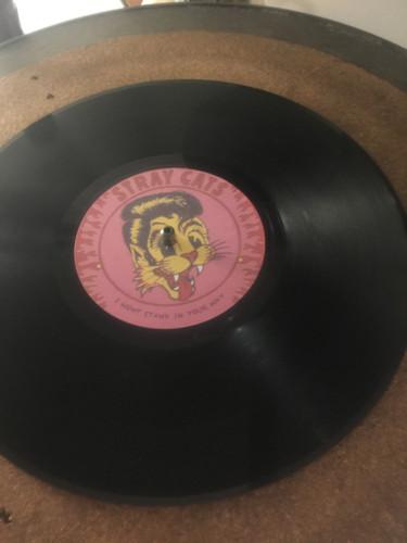 78 RPM 10 inch custom vinyl record