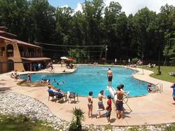 New pool and Hacienda