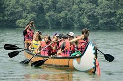 Canoeing on Lake William