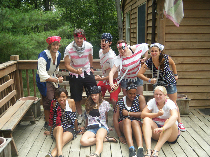 Day Camp Staff - Pirate week!