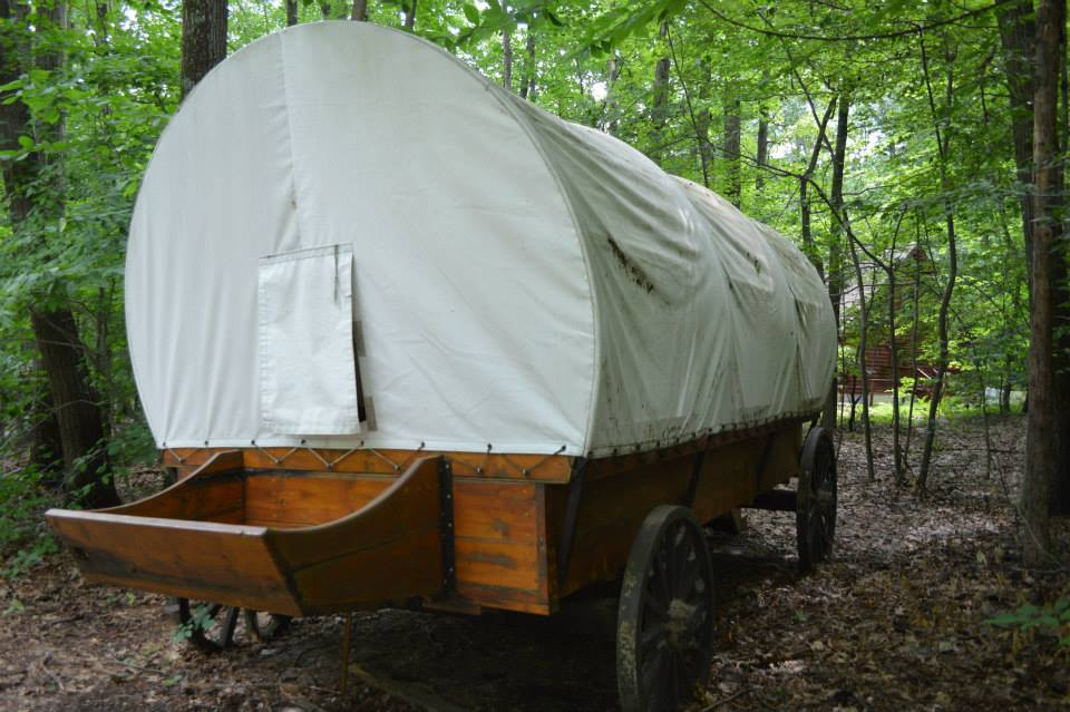 Pioneer wagon for overnights