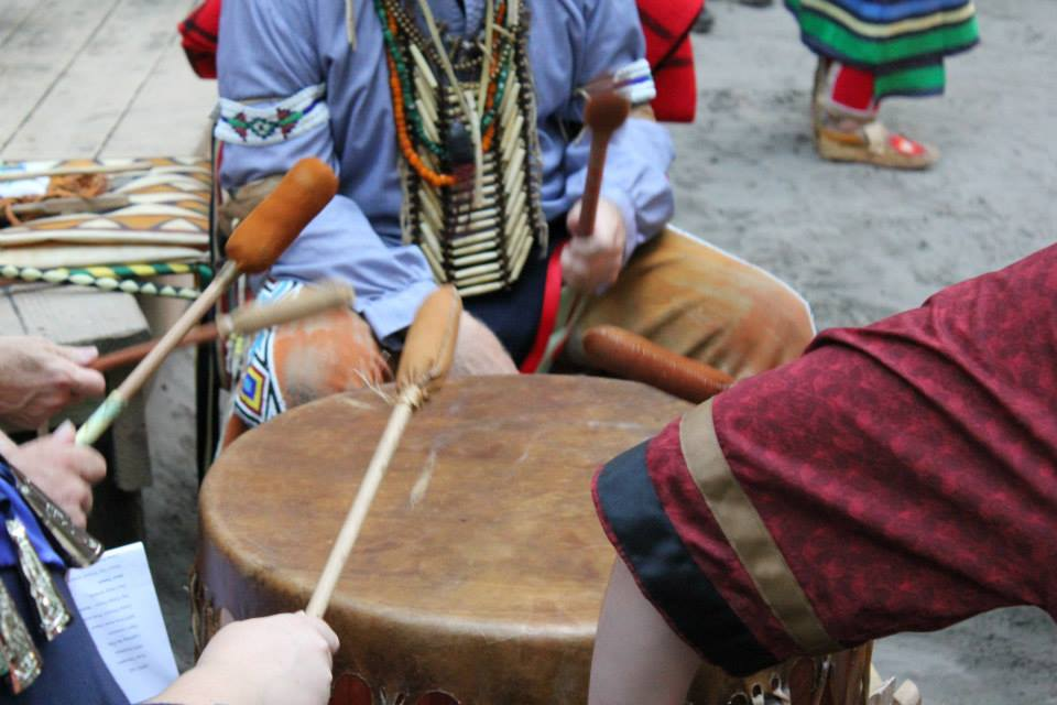 Native American drumming
