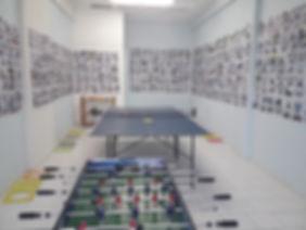 Αίθουσα πινγκ πονγκ