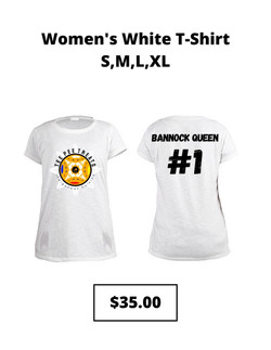 Women's White Tshirt