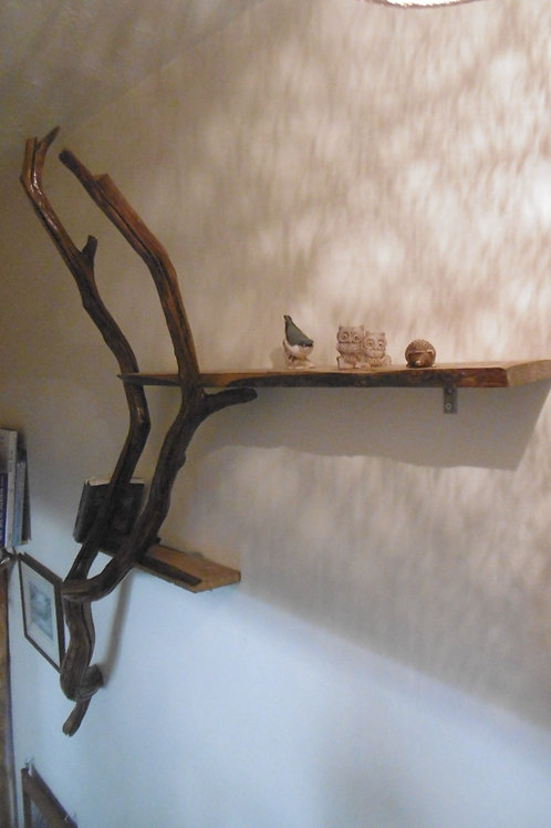 Natural Branch Shelving