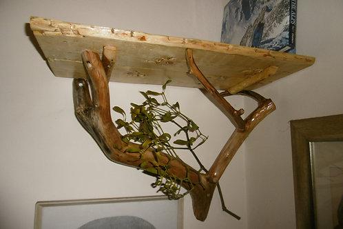 Natural Branch Shelving