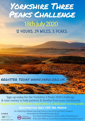 Flyer Yorkshire Three peaks Challenge 20