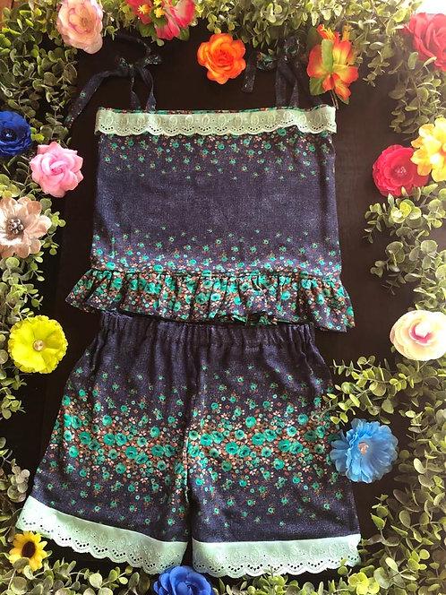 Island Princess Shorts&Top (Teen) #001