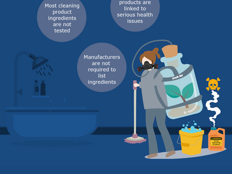 The Dirty Facts on Traditional Cleaning Products