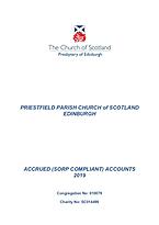 Trustees' Annual Report 2019, Priestfiel