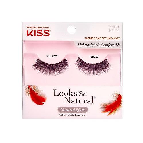 KISS Look So Natural Single Lash - Flirty