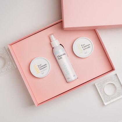 Gift Box Skin Care Cleansing Gel +Eye Contour Vit C + Eye Contour Avocado