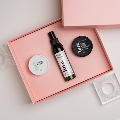 Gift Box Elixir + Ultra Daily + Facial Scrub