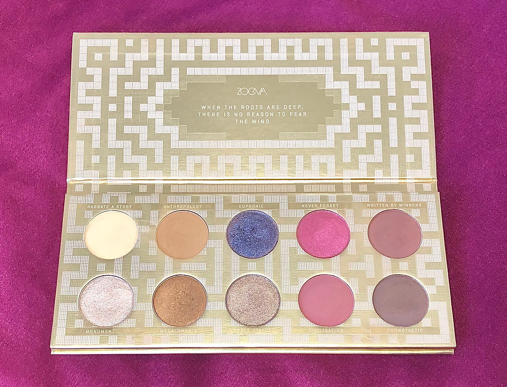 Zoeva Heritage Eyeshadow Palette Review