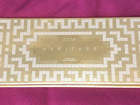 Zoeva Heritage Eyeshadow Palette