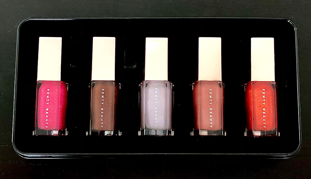 Fenty Beauty Lip Gloss Gift Set Review