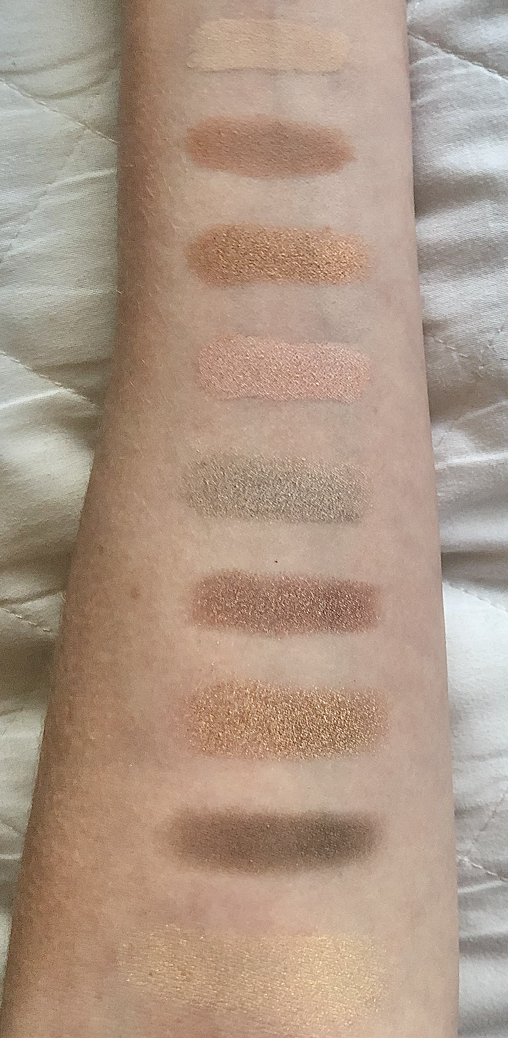 MAC Power Hungry Palette Review Swatches
