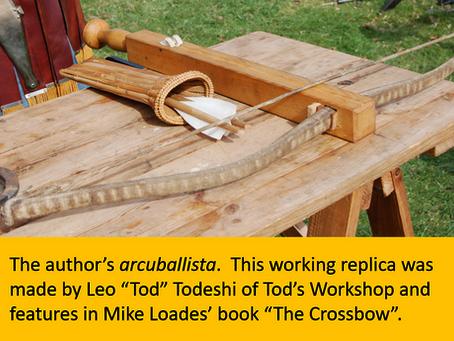 Arcuballista: A Late Roman Crossbow