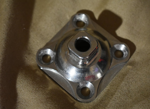 4 Hole Pyramid with Through Hole Stainless Steel (Rated up to 300 lbs)