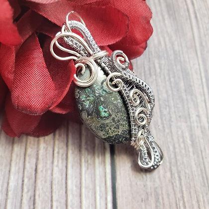 Captivating Cuprite aka Copper Ore Jasper Pendant