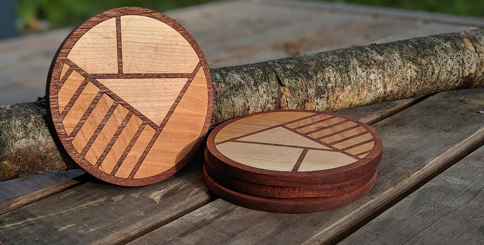 Knotty Goods coasters (4)