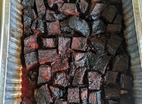 Sous Vide Brisket Burnt Ends