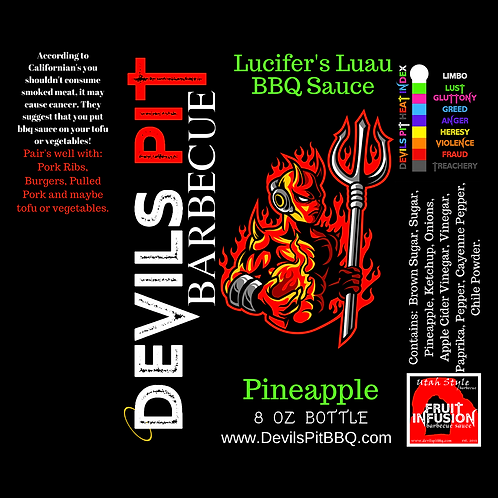 Kiapolo's Pineapple BBQ Sauce