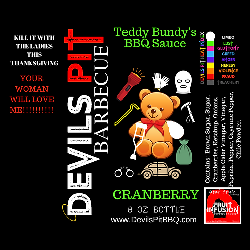 Teddy Bundy's Cranberry Barbecue Sauce